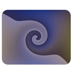 Logo Wave Design Abstract Double Sided Flano Blanket (medium)  by Simbadda