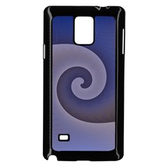 Logo Wave Design Abstract Samsung Galaxy Note 4 Case (black) by Simbadda