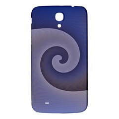 Logo Wave Design Abstract Samsung Galaxy Mega I9200 Hardshell Back Case by Simbadda