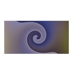 Logo Wave Design Abstract Satin Wrap by Simbadda