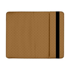Pattern Honeycomb Pattern Brown Samsung Galaxy Tab Pro 8 4  Flip Case by Simbadda