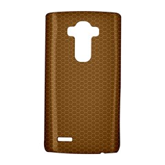 Pattern Honeycomb Pattern Brown Lg G4 Hardshell Case by Simbadda