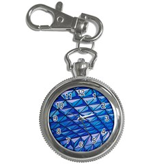 Lines Geometry Architecture Texture Key Chain Watches by Simbadda