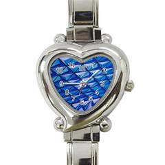 Lines Geometry Architecture Texture Heart Italian Charm Watch by Simbadda