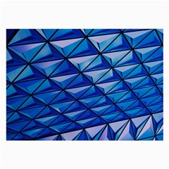 Lines Geometry Architecture Texture Large Glasses Cloth (2 Side) by Simbadda
