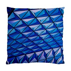 Lines Geometry Architecture Texture Standard Cushion Case (two Sides) by Simbadda