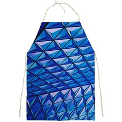 Lines Geometry Architecture Texture Full Print Aprons by Simbadda