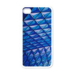 Lines Geometry Architecture Texture Apple Iphone 4 Case (white) by Simbadda
