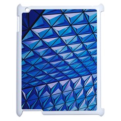 Lines Geometry Architecture Texture Apple Ipad 2 Case (white) by Simbadda