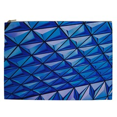 Lines Geometry Architecture Texture Cosmetic Bag (xxl)  by Simbadda