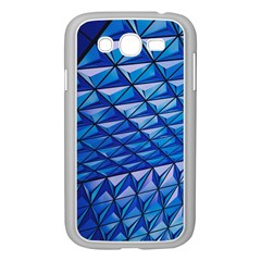 Lines Geometry Architecture Texture Samsung Galaxy Grand Duos I9082 Case (white) by Simbadda