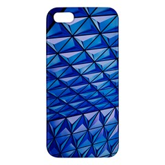Lines Geometry Architecture Texture Iphone 5s/ Se Premium Hardshell Case by Simbadda