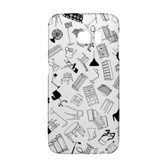 Furniture Black Decor Pattern Galaxy S6 Edge by Simbadda