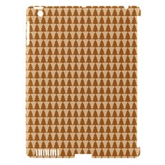 Pattern Gingerbread Brown Apple Ipad 3/4 Hardshell Case (compatible With Smart Cover) by Simbadda