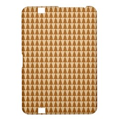 Pattern Gingerbread Brown Kindle Fire Hd 8 9  by Simbadda