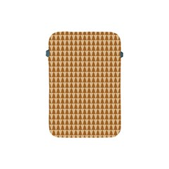 Pattern Gingerbread Brown Apple Ipad Mini Protective Soft Cases by Simbadda