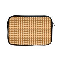 Pattern Gingerbread Brown Apple Ipad Mini Zipper Cases by Simbadda