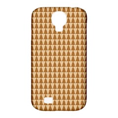 Pattern Gingerbread Brown Samsung Galaxy S4 Classic Hardshell Case (pc+silicone) by Simbadda