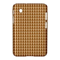 Pattern Gingerbread Brown Samsung Galaxy Tab 2 (7 ) P3100 Hardshell Case  by Simbadda