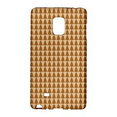 Pattern Gingerbread Brown Galaxy Note Edge by Simbadda