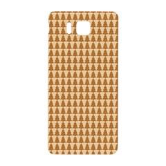 Pattern Gingerbread Brown Samsung Galaxy Alpha Hardshell Back Case by Simbadda