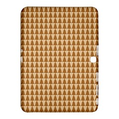 Pattern Gingerbread Brown Samsung Galaxy Tab 4 (10 1 ) Hardshell Case  by Simbadda