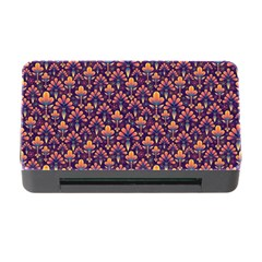 Abstract Background Floral Pattern Memory Card Reader With Cf by Simbadda