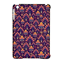 Abstract Background Floral Pattern Apple Ipad Mini Hardshell Case (compatible With Smart Cover) by Simbadda