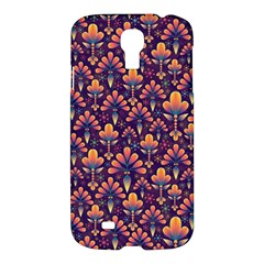 Abstract Background Floral Pattern Samsung Galaxy S4 I9500/i9505 Hardshell Case by Simbadda
