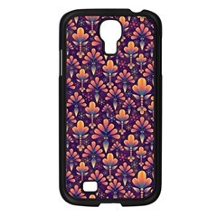 Abstract Background Floral Pattern Samsung Galaxy S4 I9500/ I9505 Case (black) by Simbadda