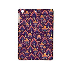 Abstract Background Floral Pattern Ipad Mini 2 Hardshell Cases by Simbadda