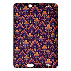 Abstract Background Floral Pattern Amazon Kindle Fire Hd (2013) Hardshell Case by Simbadda
