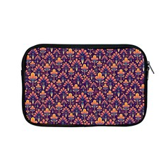 Abstract Background Floral Pattern Apple Macbook Pro 13  Zipper Case by Simbadda