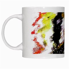 Canvas Acrylic Digital Design White Mugs by Simbadda