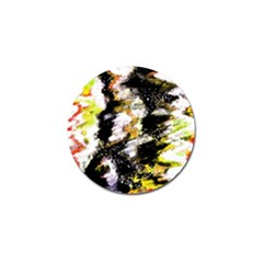 Canvas Acrylic Digital Design Golf Ball Marker (10 Pack) by Simbadda