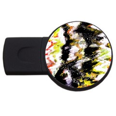 Canvas Acrylic Digital Design Usb Flash Drive Round (2 Gb) by Simbadda