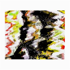 Canvas Acrylic Digital Design Small Glasses Cloth by Simbadda