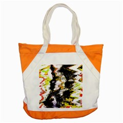 Canvas Acrylic Digital Design Accent Tote Bag by Simbadda
