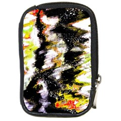 Canvas Acrylic Digital Design Compact Camera Cases by Simbadda