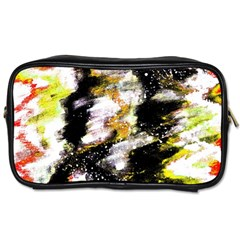 Canvas Acrylic Digital Design Toiletries Bags 2 Side by Simbadda