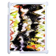 Canvas Acrylic Digital Design Apple Ipad 2 Case (white) by Simbadda