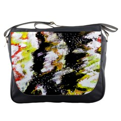 Canvas Acrylic Digital Design Messenger Bags by Simbadda