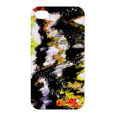 Canvas Acrylic Digital Design Apple Iphone 4/4s Premium Hardshell Case by Simbadda