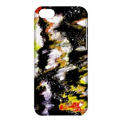 Canvas Acrylic Digital Design Apple Iphone 5c Hardshell Case by Simbadda