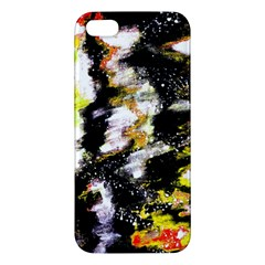 Canvas Acrylic Digital Design Iphone 5s/ Se Premium Hardshell Case by Simbadda