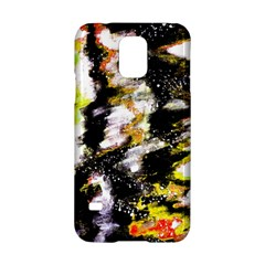 Canvas Acrylic Digital Design Samsung Galaxy S5 Hardshell Case  by Simbadda