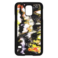 Canvas Acrylic Digital Design Samsung Galaxy S5 Case (black) by Simbadda