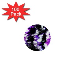 Canvas Acrylic Digital Design 1  Mini Buttons (100 Pack)  by Simbadda