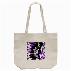 Canvas Acrylic Digital Design Tote Bag (cream) by Simbadda