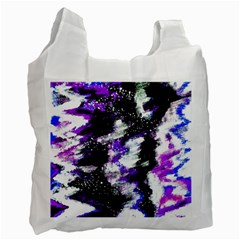Canvas Acrylic Digital Design Recycle Bag (two Side)  by Simbadda
